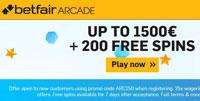 Betfair arcade promo code gbp 1500